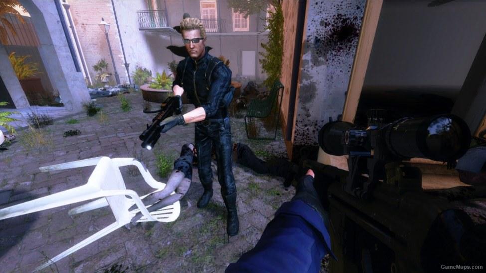 RE5 Albert Wesker (Coach) (Left 4 Dead 2) - GameMaps