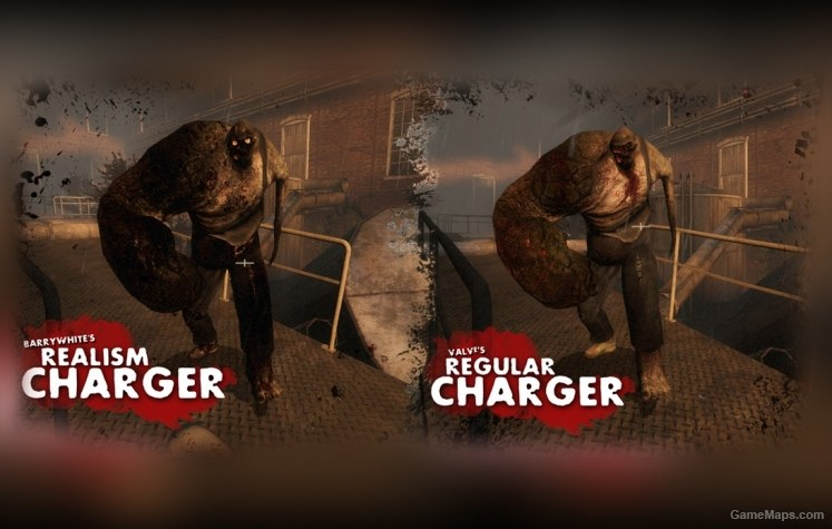 Realism Pack Charger Left 4 Dead 2 Gamemaps