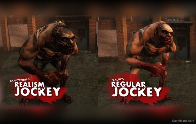 realism pack  jockey   left 4 dead 2