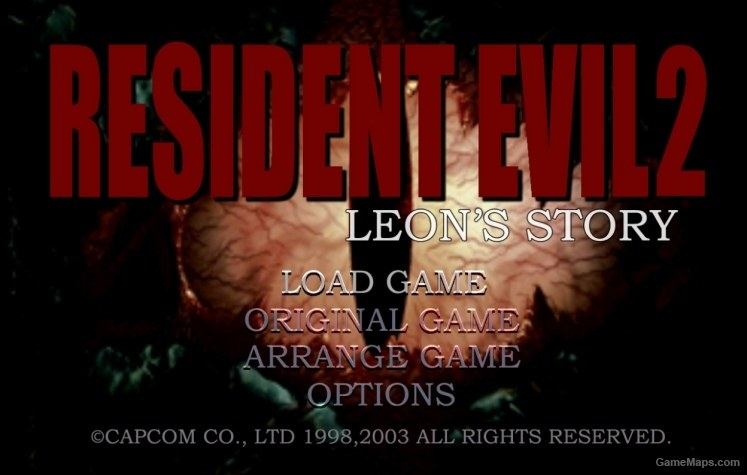 Resident Evil 2 Main Menu Sound Effects (Left 4 Dead 2