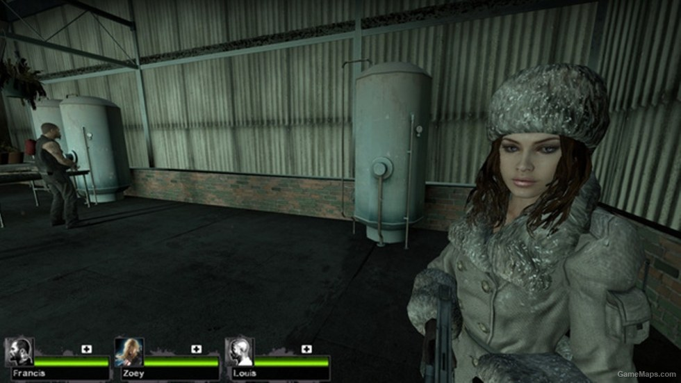 Resident Evil Revelation Jessica Sherawat Zoey Left 4