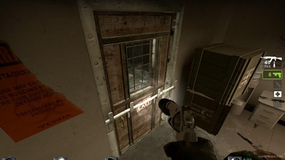 Safe Room Doors Wood Version Left 4 Dead 2 Gamemaps