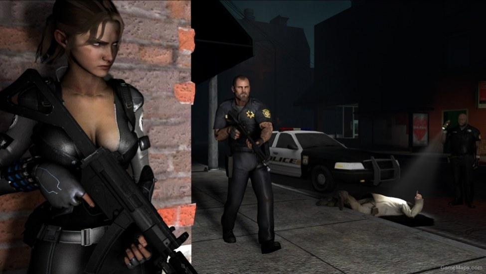 Secret Agent Zoey Armored Version Left 4 Dead 2 Gamemaps