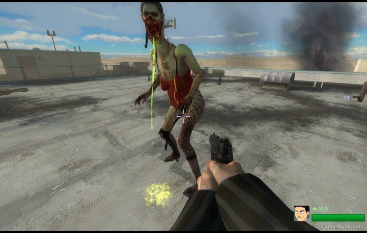 Sexy spitter (Left 4 Dead 2) - GameMaps