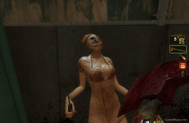 Sillent Hill Nurse-Witch (Left 4 Dead 2) - GameMaps