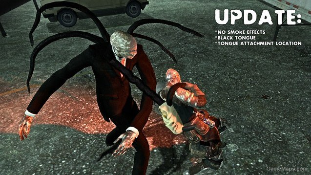 SlenderMan smoker v2 0 (Left 4 Dead 2) - GameMaps