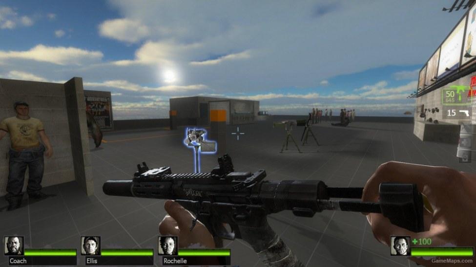 COD:GHOSTS Vector CRB & Honey Badger(UZI & Mac10) (Left 4