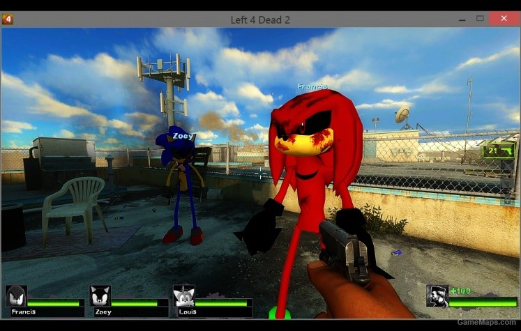Sonic Exe (Left 4 Dead 2) - GameMaps