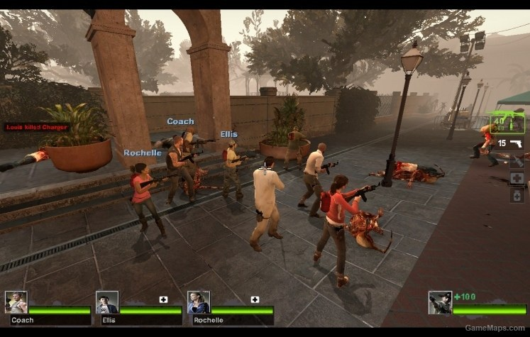 Spawning L4D1 Survivors in L4D2 (fixed) (Left 4 Dead 2) - GameMaps