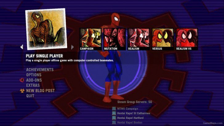 spiderman Add-ons - Left 4 Dead 2 - GameMaps