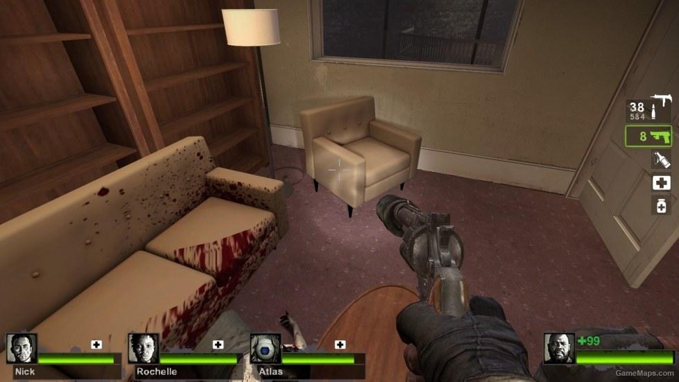 Splayn Sessel Couch Sofa 01 Left 4 Dead 2 Gamemaps