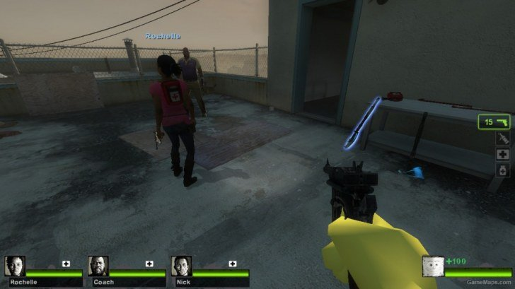 left 4 dead 2 server is enforcing consistency for this file charger