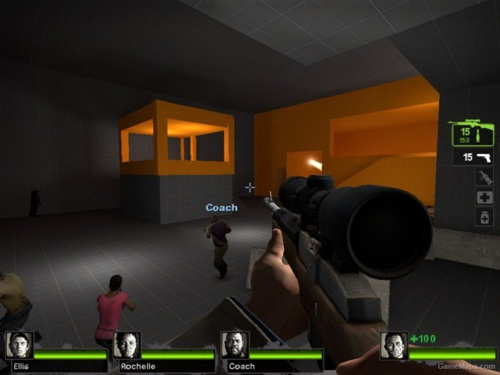 Training / Arena Maps - Left 4 Dead 2 - GameMaps