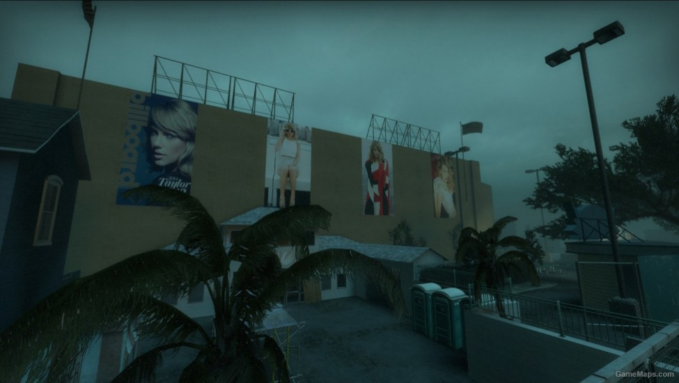 Taylor Swift 1989 Concert Left 4 Dead 2 Gamemaps