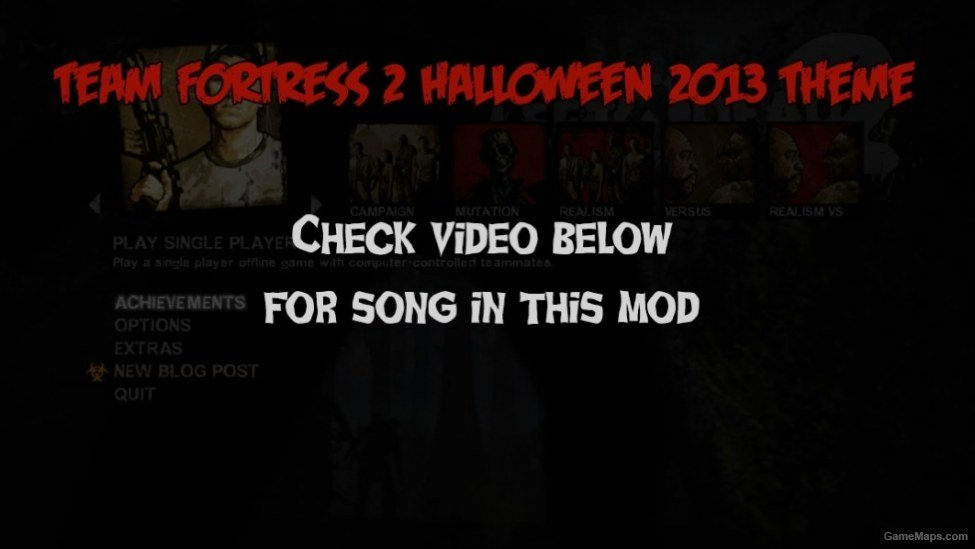 Halloween Tf2 Vmf Files 2020 Team Fortress 2 Halloween 2013 theme [menu] (Left 4 Dead 2)   GameMaps