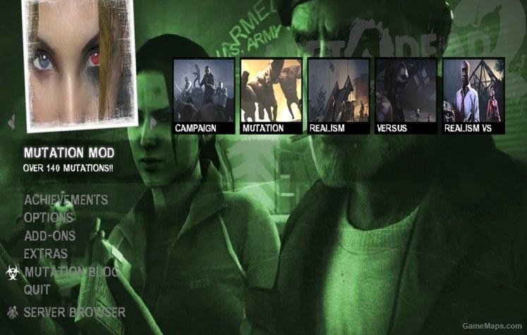 The Sacrifice Menu Mod L4D2 (Left 4 Dead 2) - GameMaps
