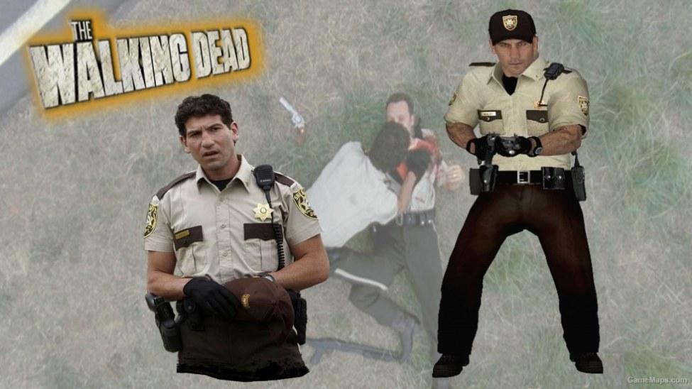 Twd Officer Shane Walsh Season 1 Left 4 Dead 2 Gamemaps