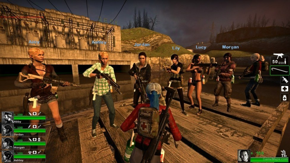 United We Stand Co-op (Left 4 Dead 2) - GameMaps