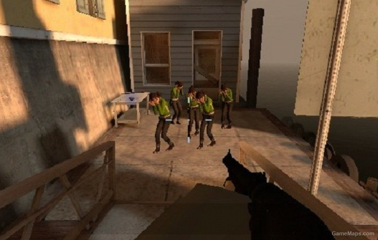 Zoey Replaces Witch (Plus) Zoey's Voice (Left 4 Dead 2