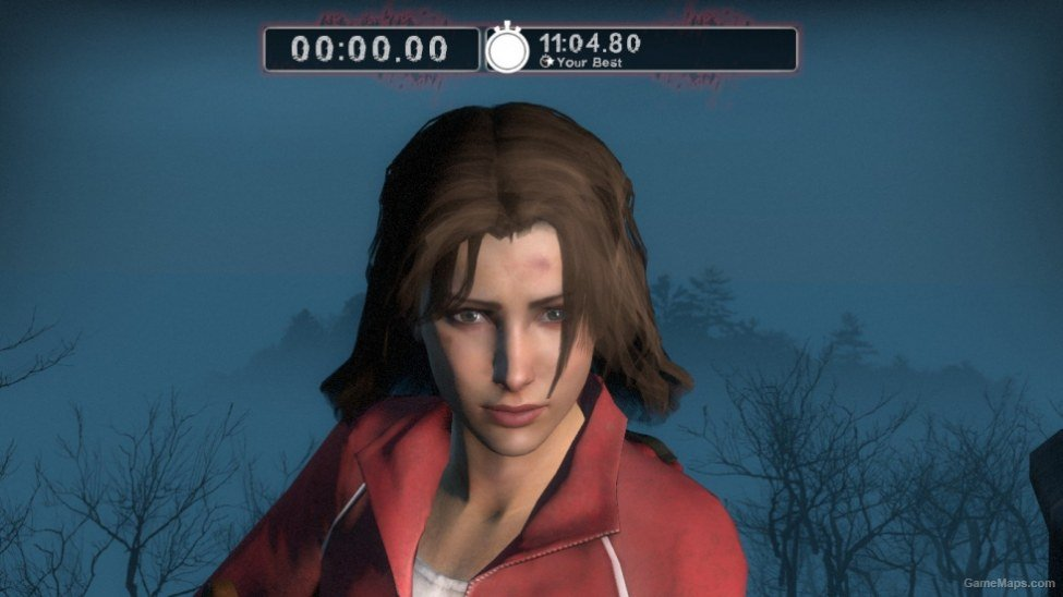 Zoey with her hair down (Left 4 Dead 2) - GameMaps