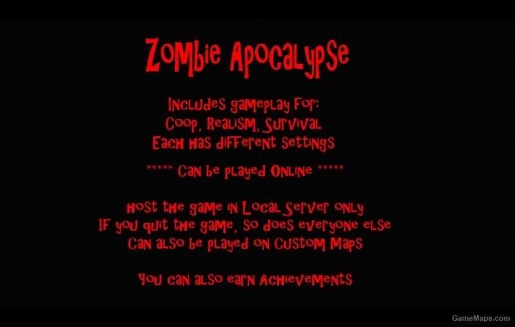 Zombie Apocalypse (Left 4 Dead 2) - GameMaps