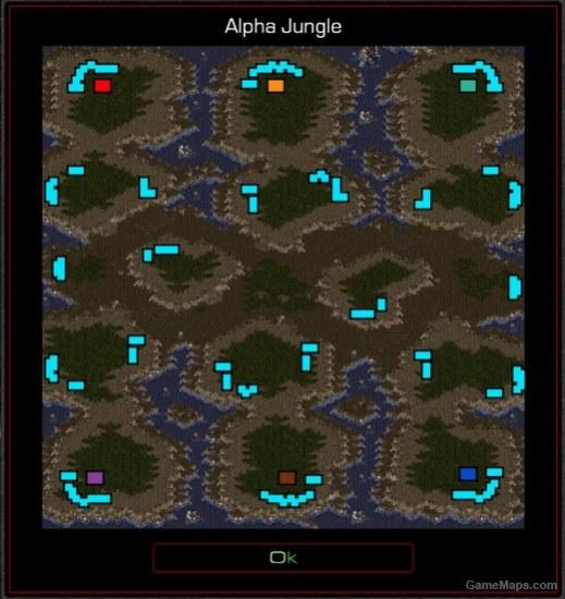 Alpha Jungle (StarCraft : Brood War) - GameMaps