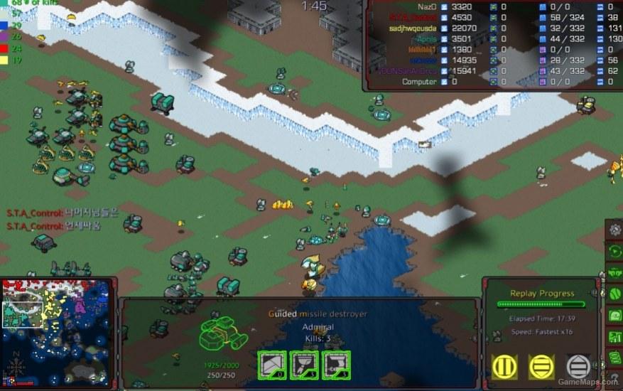Diplomacy or War East (StarCraft : Brood War) - GameMaps