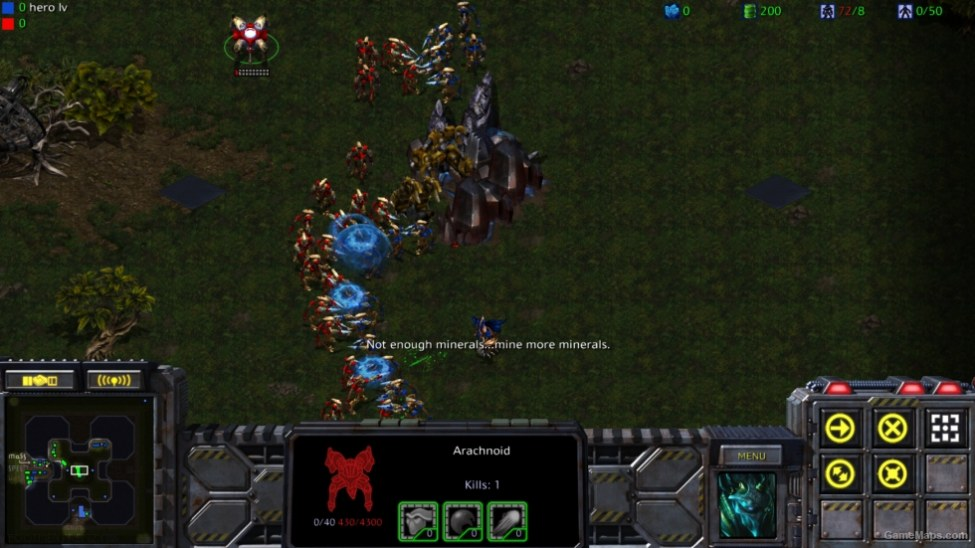 Footmen Frenzy IV (StarCraft : Brood War) - GameMaps