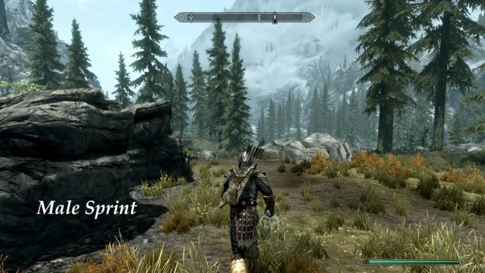 3rd Person: Sprint with Magic Tweak (Skyrim) - GameMaps