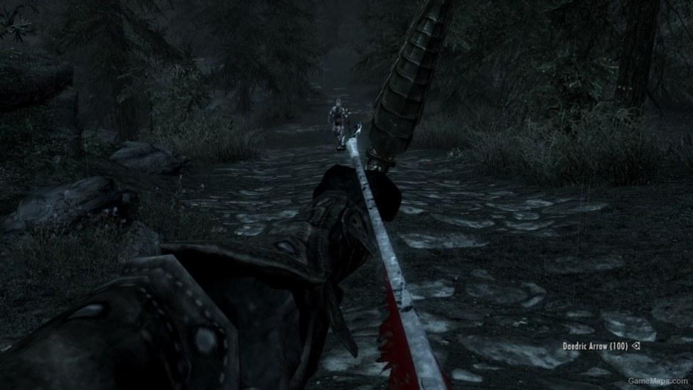 Daedric Arrow Recolor Retexture (Skyrim) - GameMaps