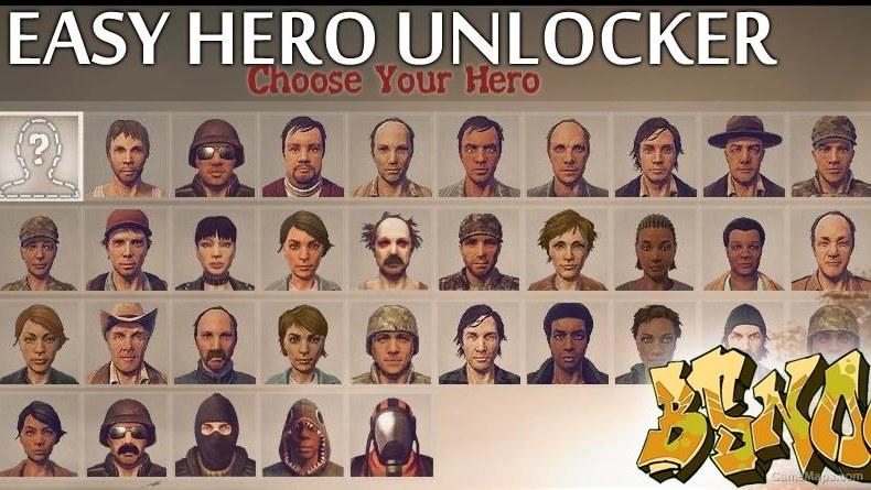 Easy Hero Unlocker (State of Decay) - GameMaps