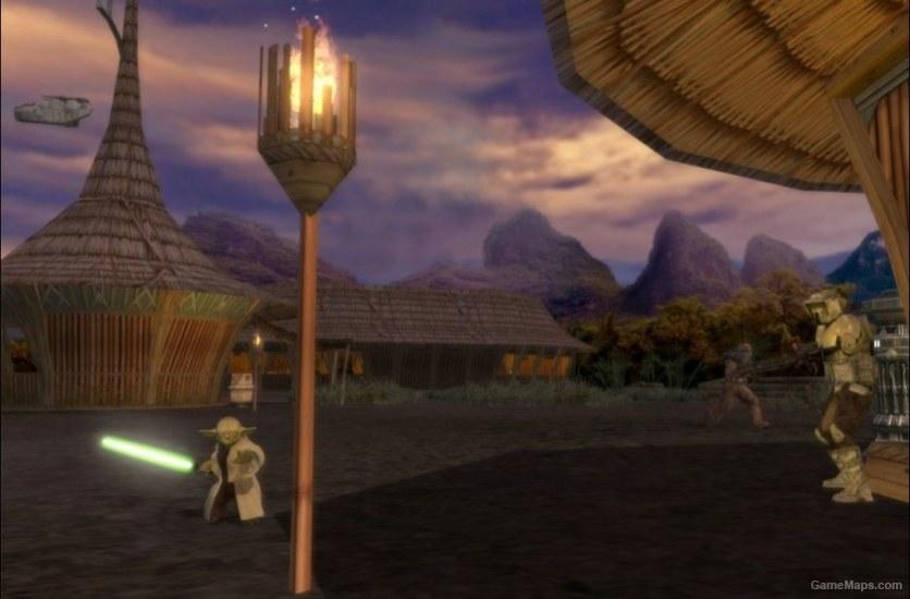Kashyyyk Islands Star Wars Battlefront 2 Gamemaps