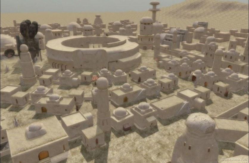 Tatooine Mos Eisley Star Wars Battlefront 2 Gamemaps