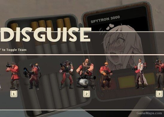 Cigarette Case Ahegao Team Fortress 2 Gamemaps
