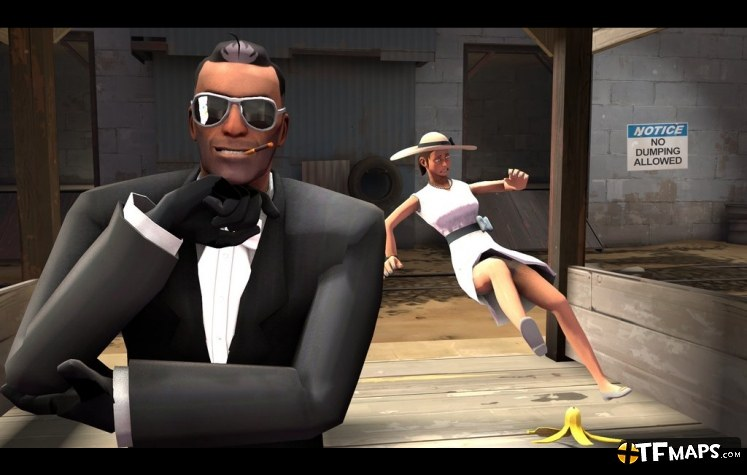 Unmasked Spy Ressubed Team Fortress 2 Gamemaps