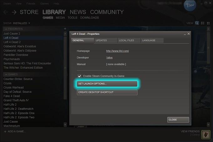 Como abrir consola y server browser Steam and non Steam (How